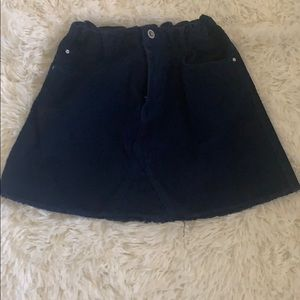 Kids mini skirt